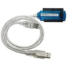 Lindy 42868 USB SATA / IDE Blanco adaptador de cable - Adaptador para cable (USB, SATA / IDE, 1 m, Blanco)