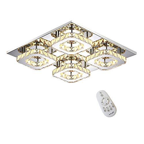 48W LED Disegno di cristallo Lampada a sospensione lampada a soffitto pendente di luce Lampadario Dimmerabile creativa