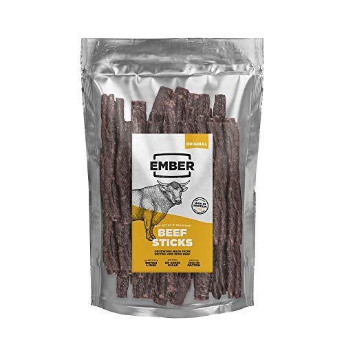 Ember Traditional Droëwors - Long Beef Sticks - High Protein Snack - Original (1x500g)