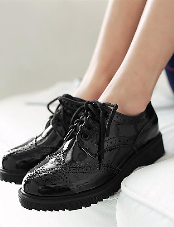 ZQ 2016 Zapatos de mujer - Plataforma - Plataforma / Punta Redonda / Punta Cerrada - Oxfords - Exterior / Vestido...