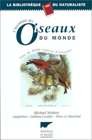 L'Inventaire des oiseaux du monde