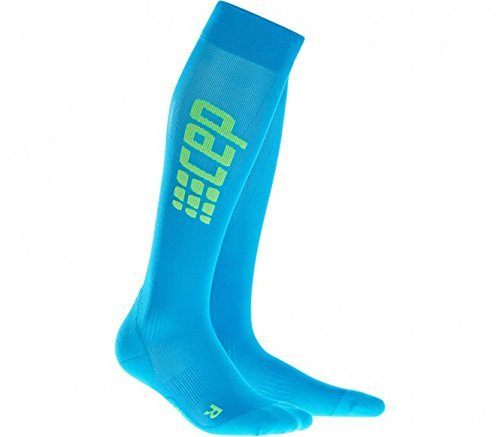 CEP Women´s Socks Pro+ Run Ultralight WP45WC blue-green EU 39-44