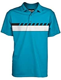 "Fayde Golf Herren Rauch-Fashion Golf Polo, Fayde Golf Herren Polo, Golf Polo für Herren, Herren Golf Polo T Shirt, Polo T Shirt Comfort Fit, tastex hygienisch Finishing, Rescue Stoff, Feuchtigkeitstransport, antibakteriell, bestickt Fayde Logo auf der rechten Ärmel. ""Feel the Swing, nicht das Shirt"""