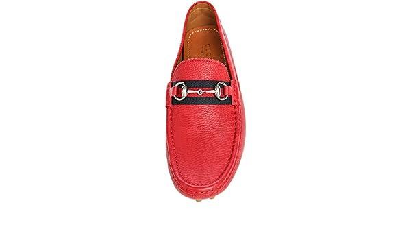 93f5149f115d1f Gucci Men s  Damo  Pebbled Leather Horsebit Driver