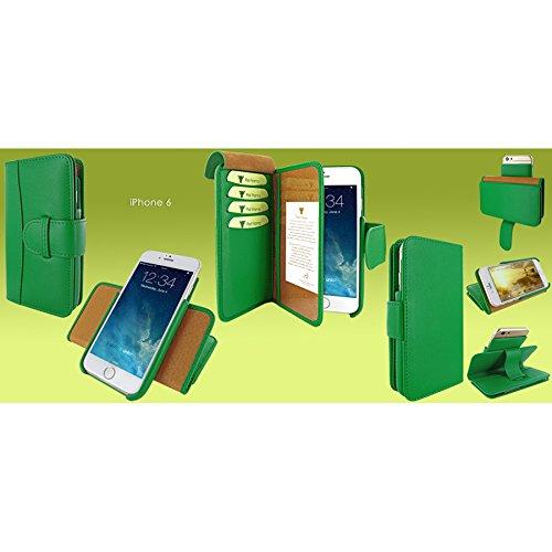 Piel Frama 678NS PIELFRAMA 678NS Wallet Case für Apple iPhone 6 in grün