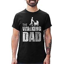 Shirtracer Camisetas Hombre The Walking Dad Regalo de cumpleaños para el Padre