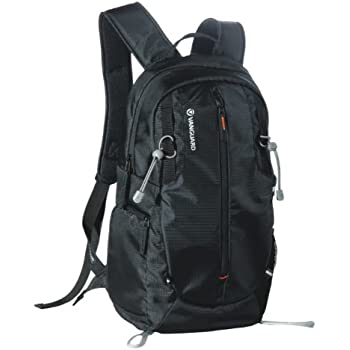 Vanguard Kinray Lite 45Bk Medium Backpack With Removable Padded Camera Insert And Quick Side Access And Rain Cover - Black