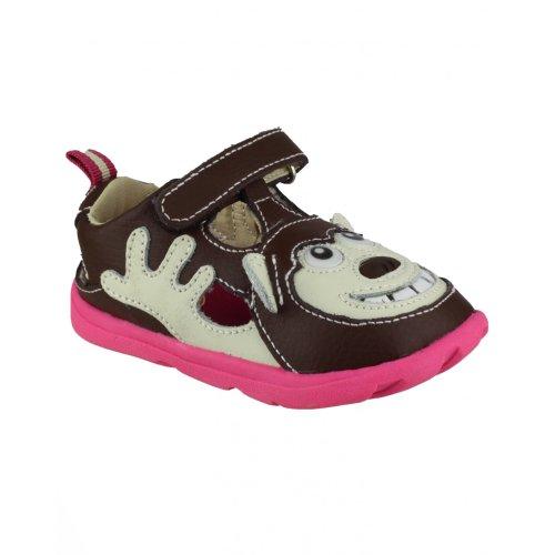 Zooligans Bobo le Singe - Chaussures - Fille Marron