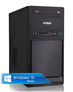 Ankermann-PC Coolboy, Intel Core i5-4460 4x 3.20GHz, ASUS GT 710 PASSIV 2GB, 4 GB DDR3 RAM, 500 GB Hard Drive, be quiet! System Power B8 300W, Microsoft Windows 10 Home 64Bit (English), Card Reader, EAN 4260219655446