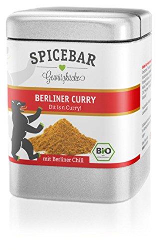 Berliner Curry, das Original aus der Hauptstadt in Premium Bio Qualität (Bbq-sauce-pulver)