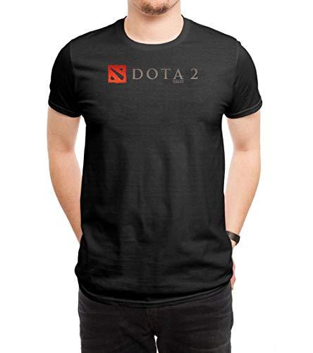 JUNQUANFU Herren Dota 2 Logo 1 T Shirt XX-Large - 1 Dota