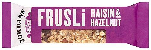 Jordans Frusili Raisin and Hazelnut Bar 30 g (Pack of 24) Test