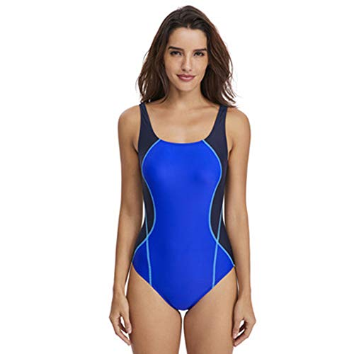86779a200e Badeanzüge Women es Racerback Swimsuit, Conservative Athletic One Piece  Training Swimwear Bathing Suit,Royalblue&Navy