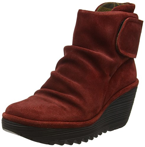 Fly London Yegi689fly - Stivaletti Donna Rosso