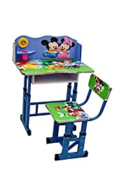Olly Polly Mickey Mouse Kids Study Table desk computer chair Set