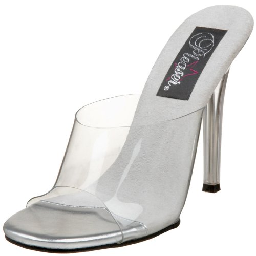 Pleaser Gala01/c/m, Sandales Femme Transparent (clear)