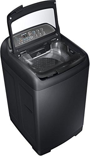 Samsung 6.5 kg Fully-Automatic Top Loading Washing Machine (WA65M4400HV/TL, Black)