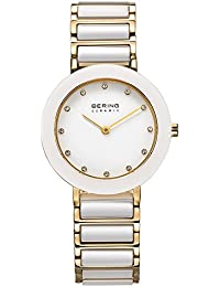 BERING Time Damen-Armbanduhr Slim Ceramic 11429-751