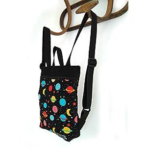 41Y3ZnKjKHL. SS300  - Mochila infantil de tela, mochila para niñas y niños para el colegio o guardería