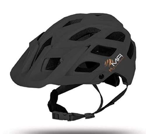 MFi Explorer–Casco Bicicleta Bluetooth Ideal para mountanbike, negro