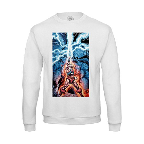 Sweat-shirt Homme He Man And The Masters Of The Universe Swords Lights