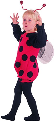 P 'tit payaso disfraz bebé mariquita-rojo