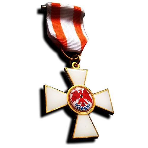 Medallas militares Medalla Militar Orden del Águila Roja Primera Clas