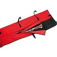 LEKI Skisack mit 3 einzelnen Fächern für 3 Pr. Alpinski rot