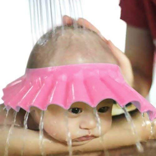 Harikrishnavilla Adjustable Safe Soft Bathing Baby Shower Cap