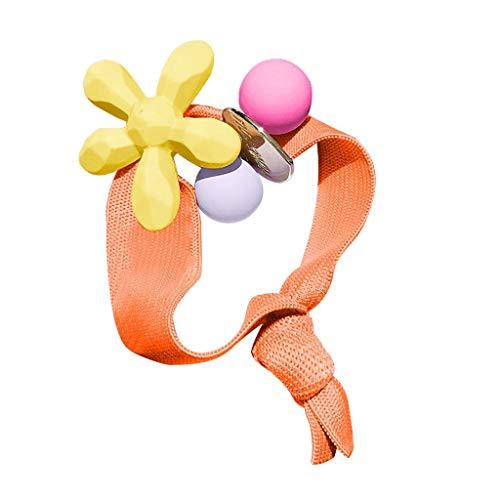 Haarband Mädchen Kinder Krawatten Seil Ring Elastisches Pferdeschwanz Headwrap für Tägliche Casual Fashion Briskorry