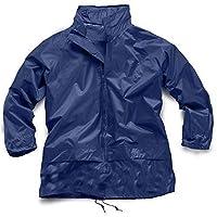 Hari Deals Boys Girls KAG in a Bag Kagool Kagoul Raincoat Jacket Navy 26 (7-8 Years)