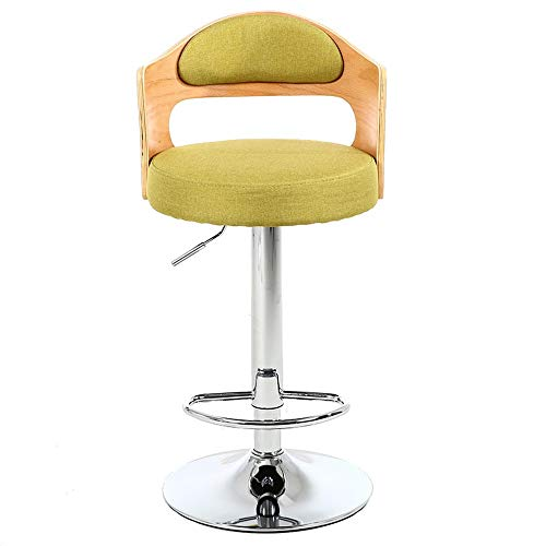 Barhocker, 360 Grad Swivel Verstellbarer Barhocker, Mordern Pu Leder Pub-Stuhl (Farbe : C7, Größe : Height 60-80cm) -
