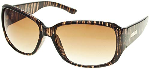 Womens Plastic Mod Square Sonnenbrille One Size Brown