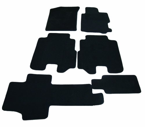 Tailored Deluxe Quality Car Mats Peugeot 207 2006-2014 ** Black ** Hatchback