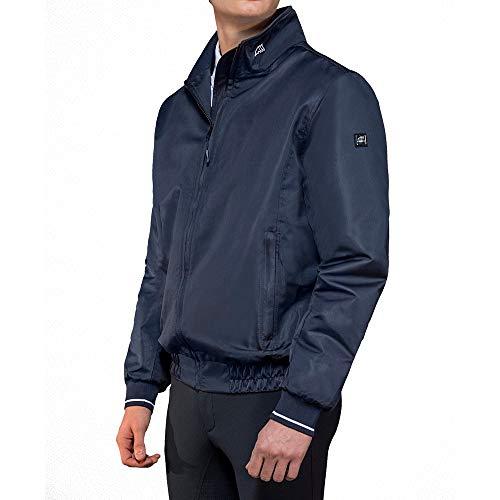 Equiline Algar Bomber Jacke Herren Größe: XL Farbe: Blue