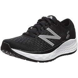 New Balance Fresh Foam 1080v9, Zapatillas de Running para Mujer, Negro (Black/White), 40 EU