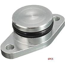 Demino 6PCS 22MM del Anillo o Diesel Reparación del Remolino de la Aleta en Blanco Compatible