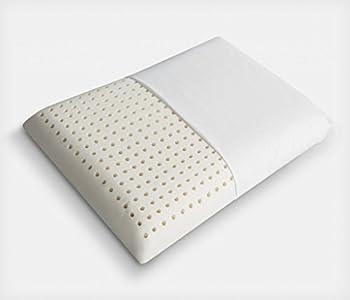 OREILLER 60x40 cm en 100% LATEX MULTI-PERFORÉ Anti-Acariens & Hypoallergénique - FORME CLASSIC TRADITIONNELLE