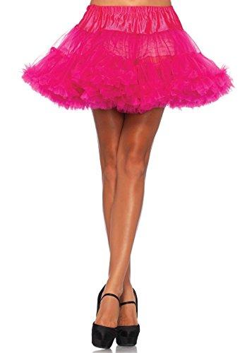 Kostüm Best Basic - LEG AVENUE 8990 - Petticoat *best basic* Petticoats, Einheitsgröße (Fuchsie)