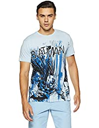 Free Authority Men's Printed Regular Fit T-Shirt
