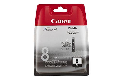 Canon Tintenpatrone CLI-8 BK - Foto-Schwarz