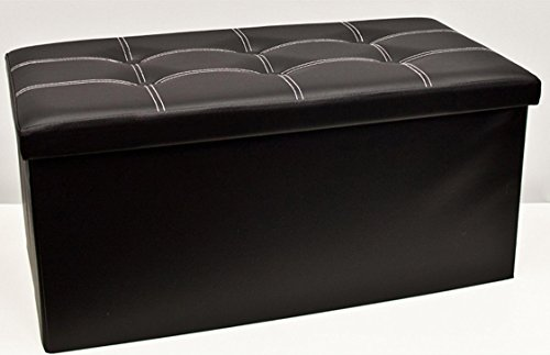 folding-ottoman-leather-buttoned-double-brown-black-cream-red-black