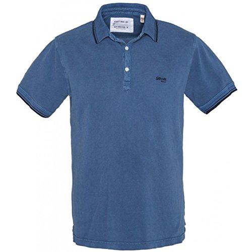Schott NYC -  T-shirt - Classico  - Maniche corte  - Uomo Blue 40