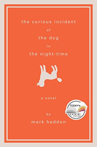 Book cover for The Curious Incident of the Dog in the Night-Time