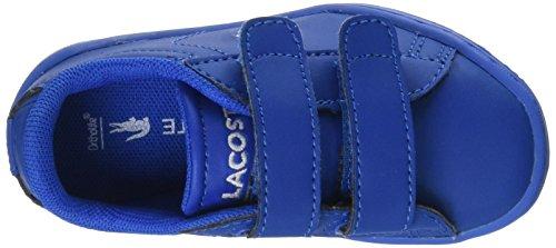 Lacoste Carnaby Evo 317 5, Baskets Mixte Bébé Bleu (Blu)
