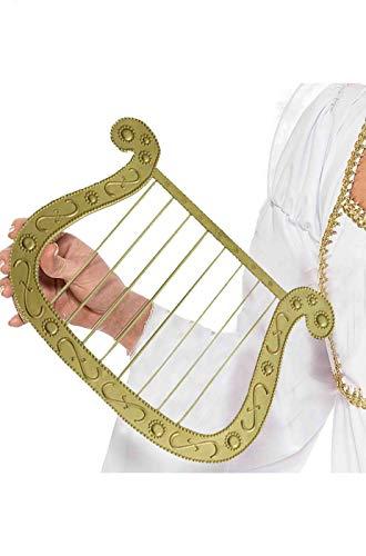 ESPA nv/sa Harfe für Engel Gold 22x28cm - Engel Harfe Kostüm