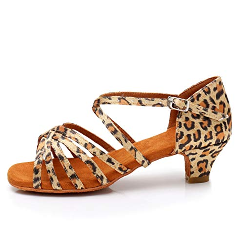 Zylione Latin-Tango-Tanzschuhe für Kinder Tanzschuhe Übungsschuhe Prinzessin Schuhe Sandalen