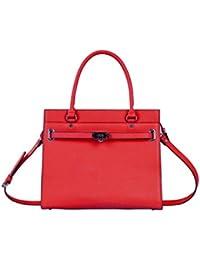 Kesslord Bourgeoisie - Bolso de asas de Otra Piel para mujer rojo Rouge - R