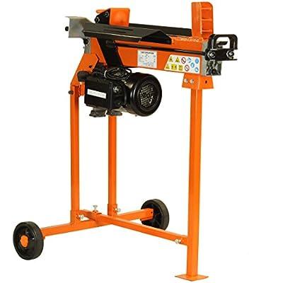 Fast Lightweight 5 Ton 2200 Watt Electric Hydraulic Log Splitter 300mm/12 Inch Log Length