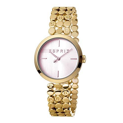 Esprit es1l018m0045Bliss Rosa Oro Mujer Reloj